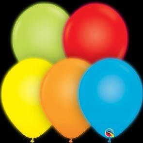Q-LITE 5er LED MIX  Latexballon