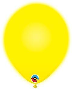 Q-LITE 5er LED YELLOW  Latexballon