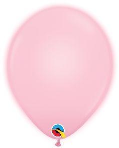 Q-LITE 5er LED PINK  Latexballon
