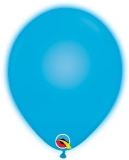 Q-LITE 5er LED BLUE Latexballon