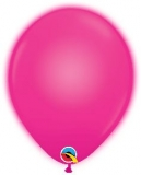 Q-LITE 5er LED MAGENTA  Latexballon