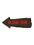 Wanddekoration 50cm BLOOD BAR