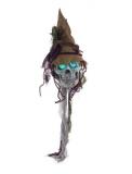 Hängender Deko-Schädel 83cm mit Licht