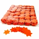Konfetti Stern - Orange 1kg